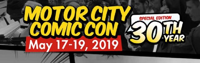 Motor City Comic Con 2019